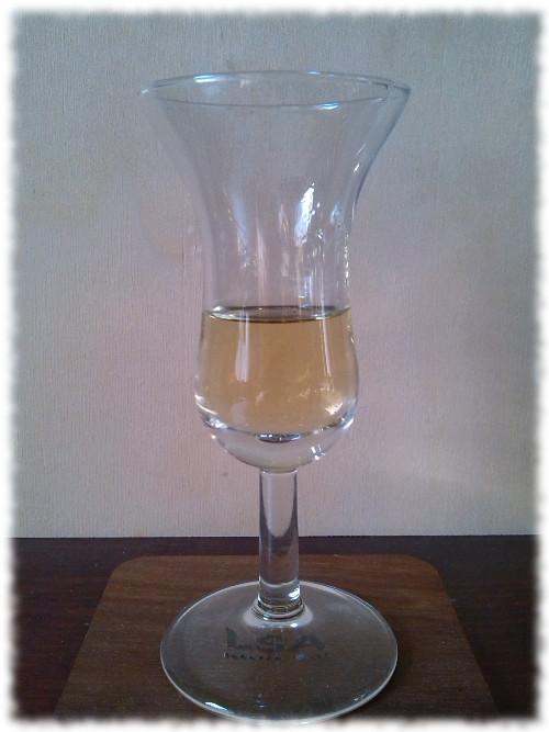 New 2 Oak Barrel Aged Liquor Glas