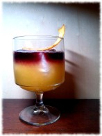 New York Cognac Sour