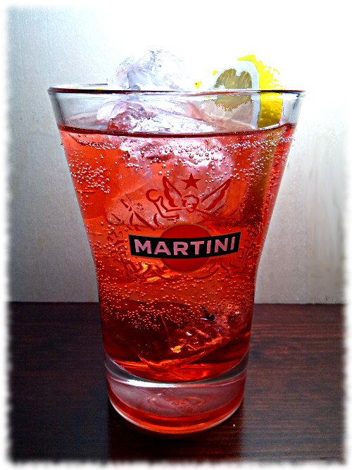 Martini Fiero Tonic