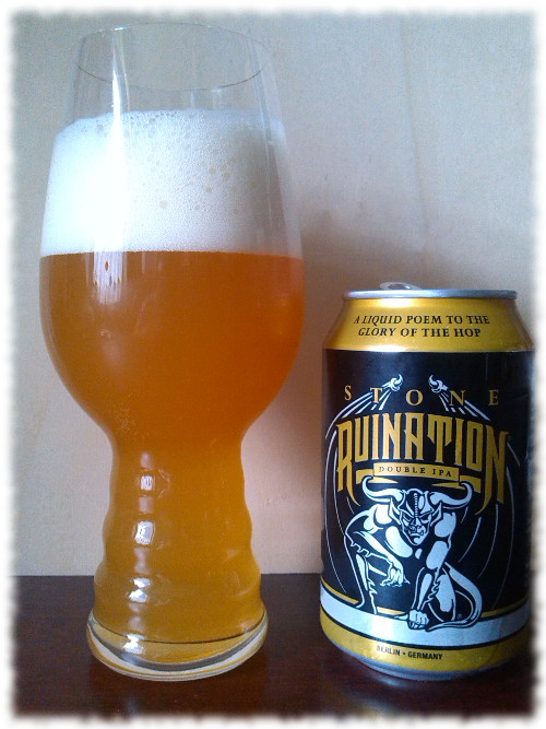 Stone Brewing Ruination Double IPA