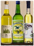 Destillerie Armand Guy Pontarlier Le Vert Sapin, Anis Ponsec und La Pontissalienne