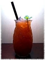 Pineapple Rum Swizzle