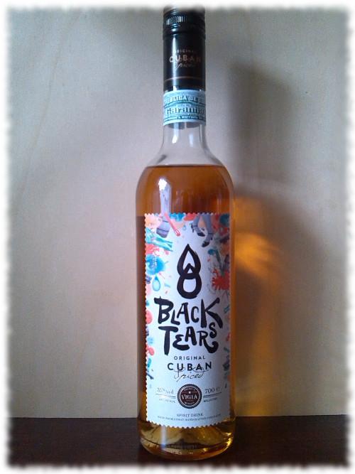 Black Tears Cuban Spiced Flasche