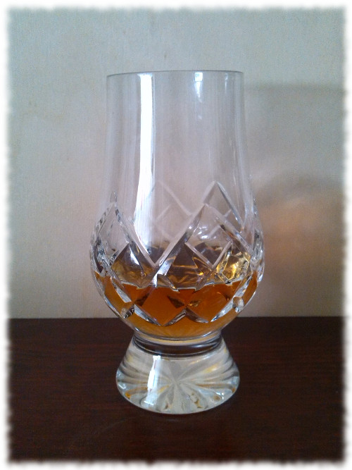 Foursquare Triptych Single Blended Rum Glas