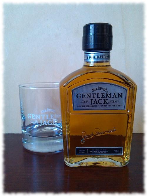 Jack Daniel's Gentleman Jack Flasche