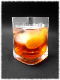 Strawberry Saar Negroni