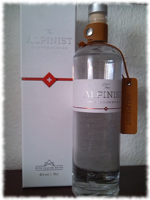 The Alpinist Swiss Premium Dry Gin Flasche