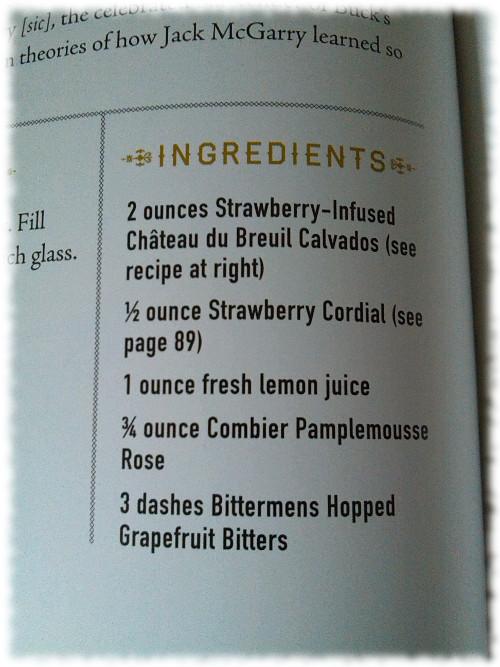 The Dead Rabbit Grocery and Grog Drinks Manual Beispielrezept