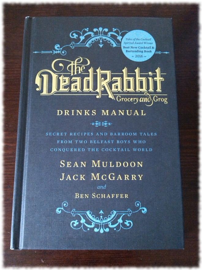 The Dead Rabbit Grocery and Grog Drinks Manual Cover
