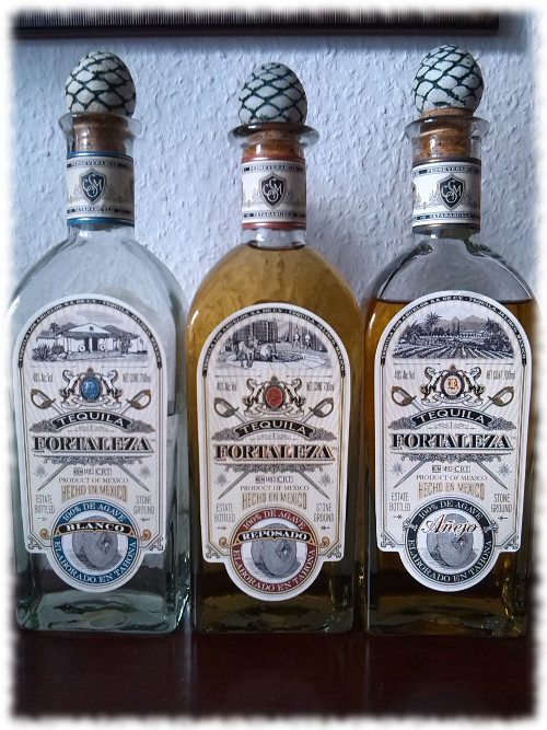3 Fortaleza Tequilas