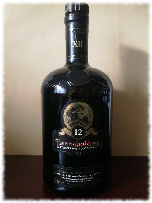 Bunnahabhain 12 Islay Single Malt Scotch Whisky Flasche