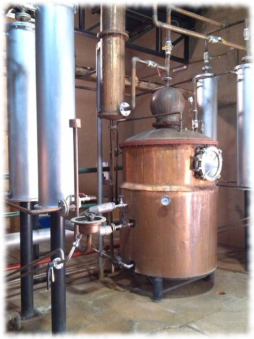 Pisco Bauzá Besuch der Destillerie 06