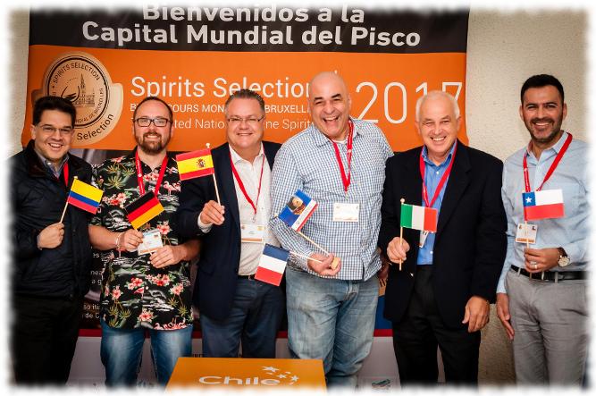 Spirits Selection Chile 2017 Jury 2 Gruppenfoto