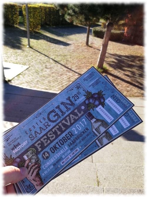 1. GIN Festival Saar - 01 Eintrittskarten