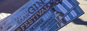 1. GIN Festival Saar Titel