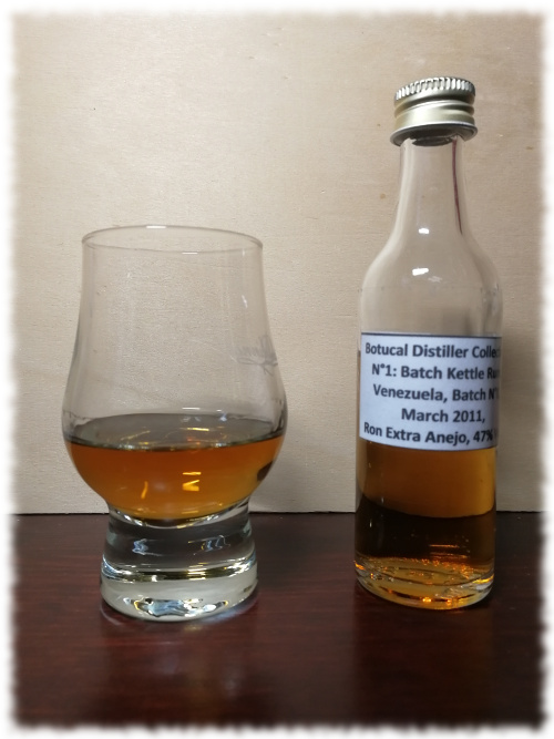 Botucal Distiller Collection N°1 Single Batch Kettle Rum