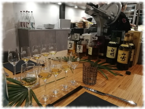 The Art of Japanese Whisky vorgestellte Whiskys