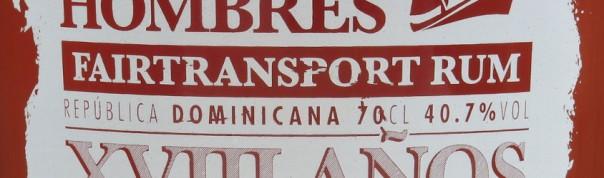 Tres Hombres Edition 7 XVIII Años 2014 Fairtransport Rum Titel
