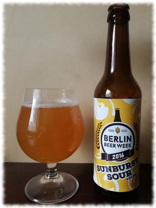 Brewbaker Sunburst Sour (Beer Week 2016 Collaboration Brew)