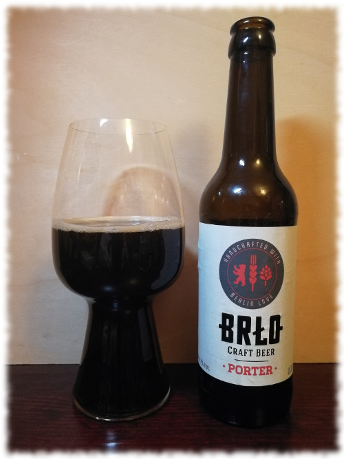 Brlo Craft Beer Porter
