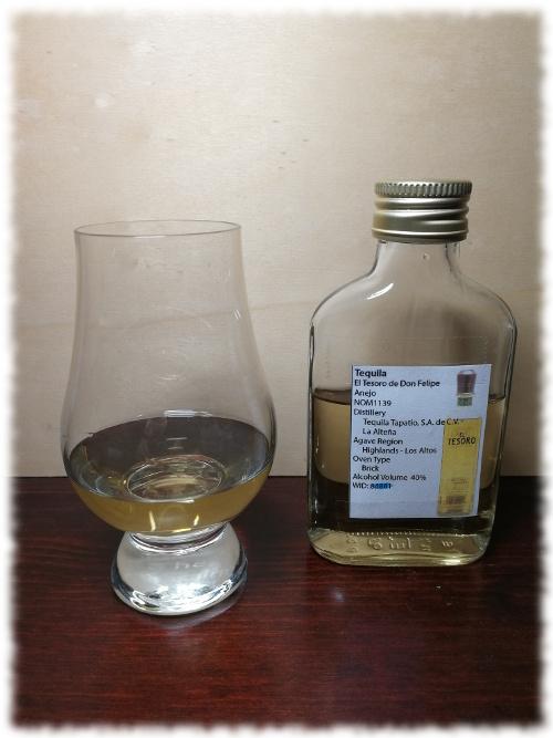 El Tesoro de Don Felipe Tequila Añejo
