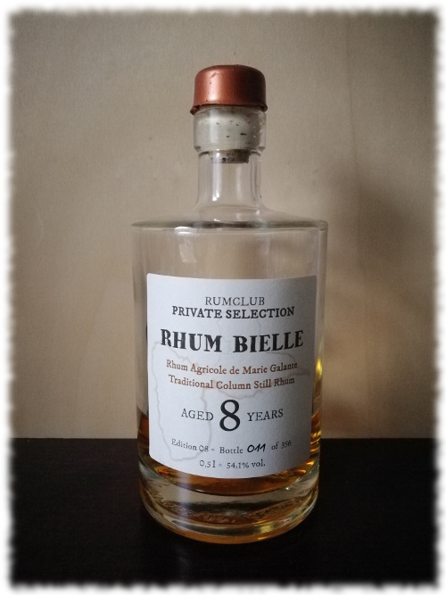 Rumclub Private Selection Rhum Bielle Aged 8 Years Flasche