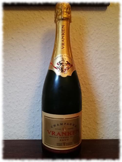 Vranken Champagner Brut Flasche