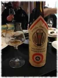 After-Work-Tasting - Bier und Tapas 5 - Saint-Nabor 1916 Ambrée à la sauge