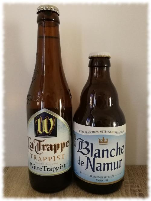 La Trappe Witte Trappist vs Blanche de Namur
