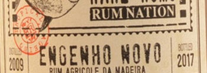 Kurz und bündig – Rum Nation Rare Cask Engenho Novo Rum Agricole daMadeira