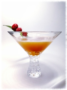 Very French Martini