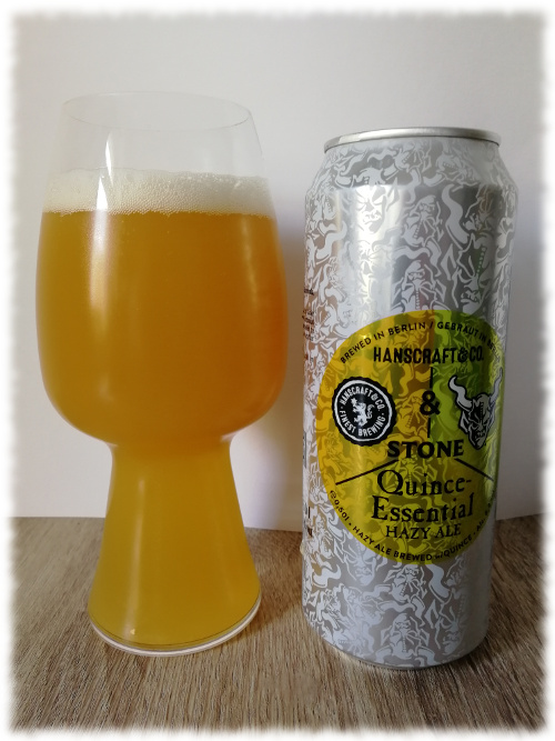 Hanscraft & Co. & Stone Quince-Essential Hazy Ale