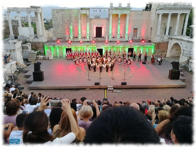 Spirits Selection 2018 (Bulgarien) - 10 - Besuch Amphitheater Plovdiv