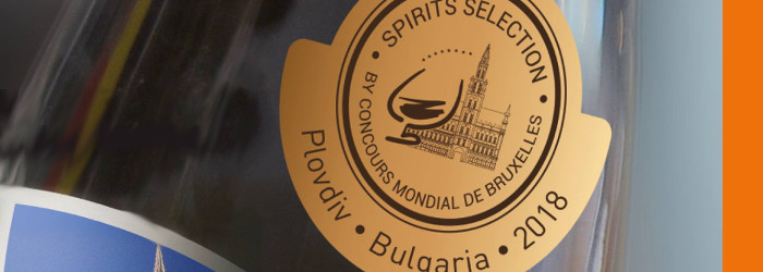 Spirits Selection by Concours Mondial de Bruxelles – Edition 2018 – Plovdiv(Bulgarien)