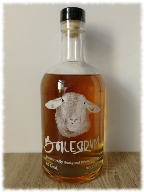 Boilerrum Bionaturally Designed Brown Rum