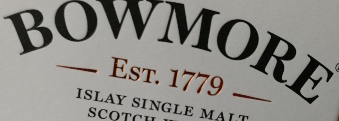 Bowmore Islay Single Malt Scotch Whisky Aged 12 Years Titel