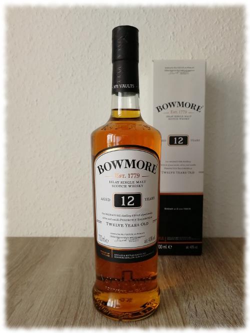 Bowmore Islay Single Malt Scotch Whisky Aged 12 Years