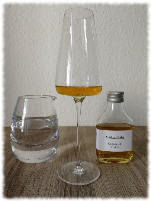God by Godet Cask Super-Strength Cognac