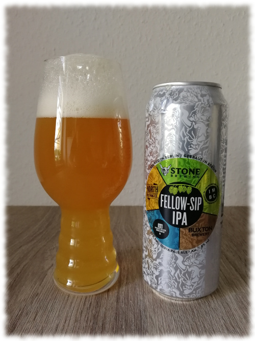 IMBC - Buxton Brewery - Magic Rock - North Brewing Co. - Stone Fellow-Sip IPA