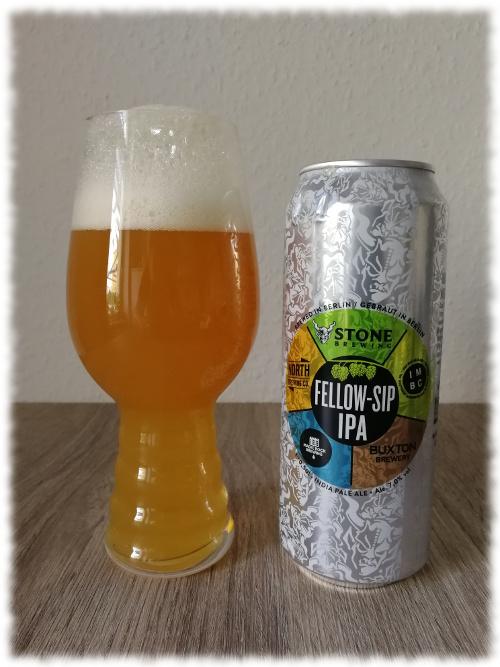 IMBC - Buxton Brewery - Magic Rock - North Brewing Co. - Stone Fellow-Sip IPA