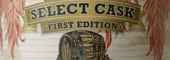 Navy Island Select Cask First Edition Hampden 10y Jamaica Rum Titel