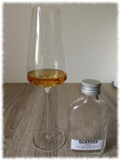 Hampden Estate Pure Single Jamaican Rum 7y 46%