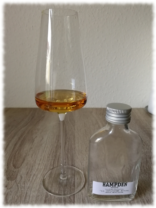 Hampden Estate Pure Single Jamaican Rum 7y 46%