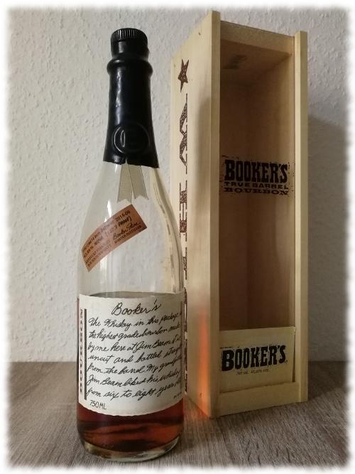 Booker's Kentucky Straight Bourbon Whiskey