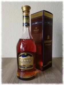 Ararat Akhtamar Aged 10 Years Armenian Brandy