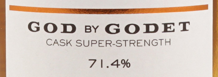 Kurz und bündig – God by Godet Cask Super-Strength Cognac