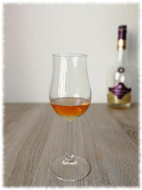 Courvoisier VSOP Glas