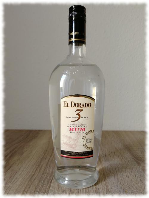 El Dorado Cask Aged 3 Years Demerara Rum