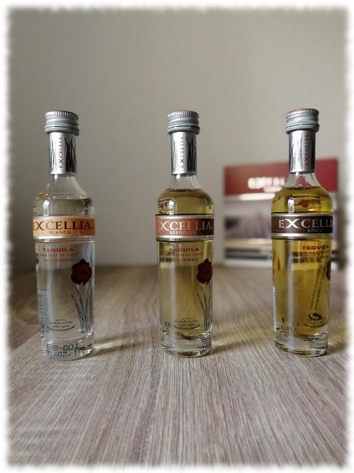 Excellia Tequila Blanco, Reposado und Añejo