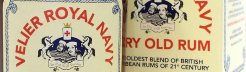 Velier Royal Navy Very Old Rum Titel